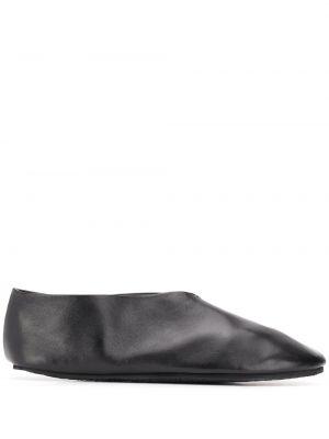 Черные тапочки Jil Sander