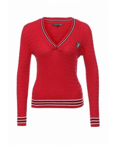 Пуловер красный Giorgio Di Mare