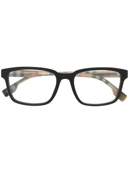 Czarna oprawka do okularów vintage Burberry Eyewear
