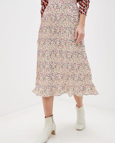 Розовая плиссированная юбка Compania Fantastica