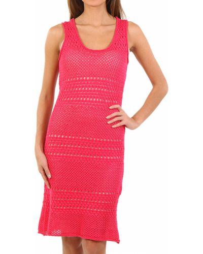 Платье весеннее розовое Cerruti 18crr81