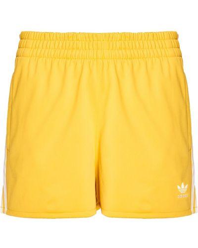 Спортивные шорты в полоску короткие Adidas