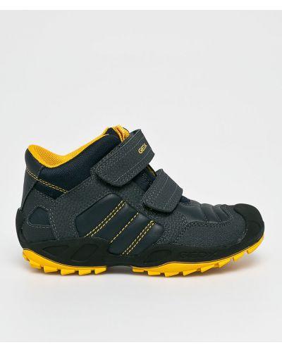 Туфли коричневый синие Geox