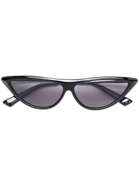Черные солнцезащитные очки металлические Christian Roth