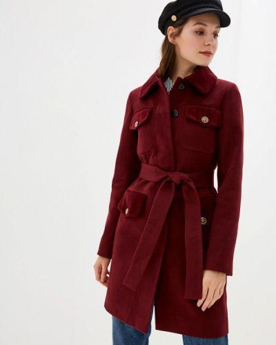 Пальто демисезонное бордовый Grand Style