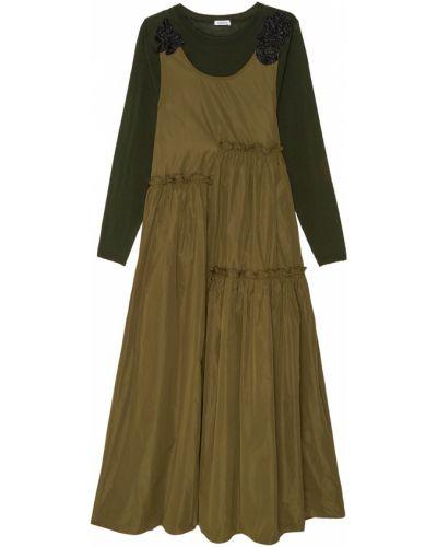 Зеленое платье P.a.r.o.s.h.