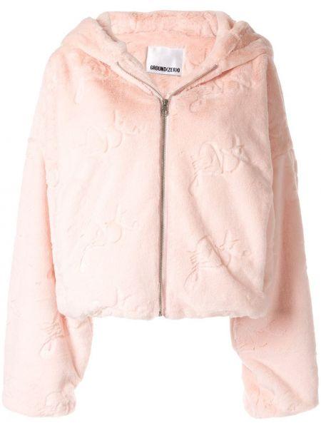 Розовая куртка круглая Ground Zero