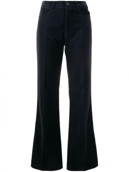 Spodni bawełna czarny klasyczne spodnie z kieszeniami Zadig&voltaire
