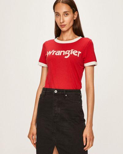 Футбольная футболка с декольте Wrangler