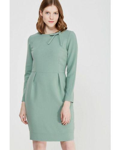 Зеленое платье осеннее Echo