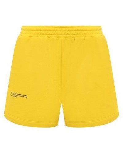 Трикотажные шорты - желтые Pangaia