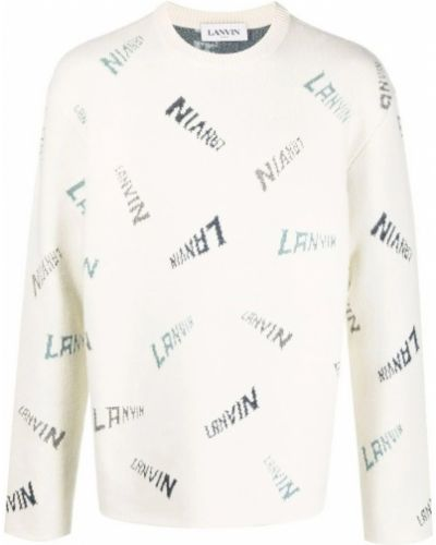 Beżowy sweter Lanvin