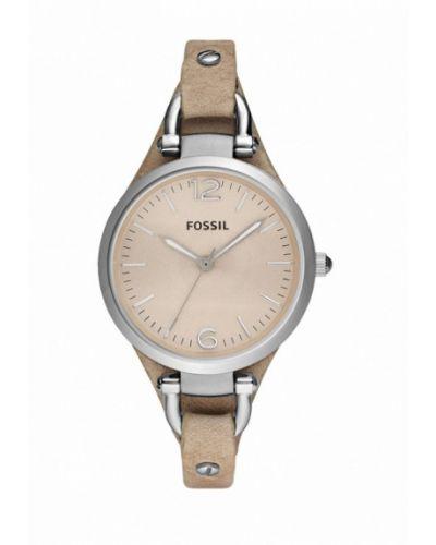 Часы бежевые весенний Fossil