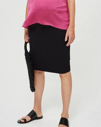 Юбка для беременных черная Topshop Maternity