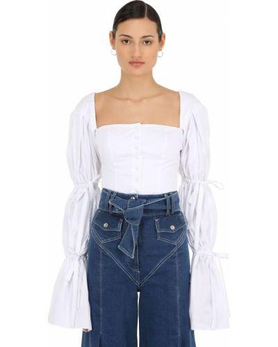 Рубашка с завязками расклешенная Sara Battaglia