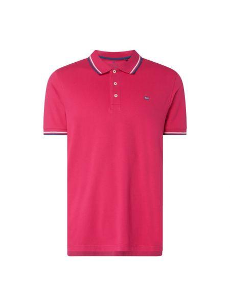 T-shirt bawełniana - różowa Christian Berg Men