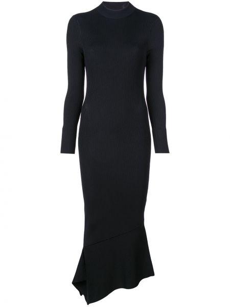 Платье миди с открытой спиной с рукавами Alexis