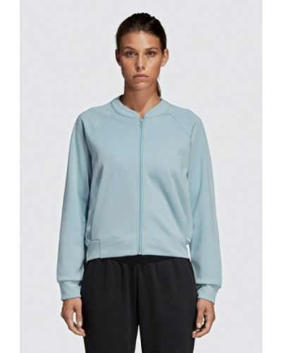 Толстовка 2019 голубой Adidas