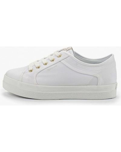 Низкие кеды белые Gant