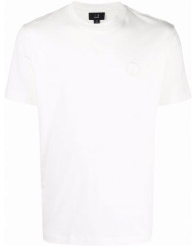 Biała koszulka krótki rękaw Dunhill