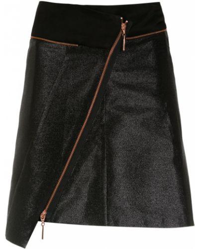 Асимметричная юбка - черная Tufi Duek