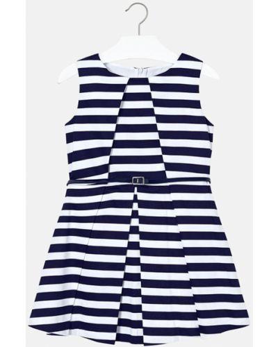 Платье темно-синий синий Mayoral