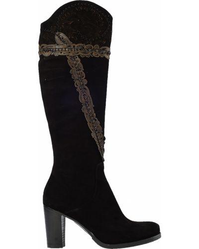 Кожаные сапоги - черные Laura Bellariva