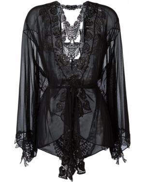 Хлопковое черное кимоно Belle Et Bon Bon