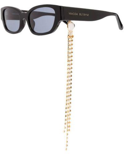 Czarne okulary Magda Butrym