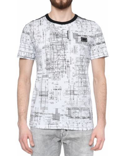 Хлопковая футболка - белая Antony Morato