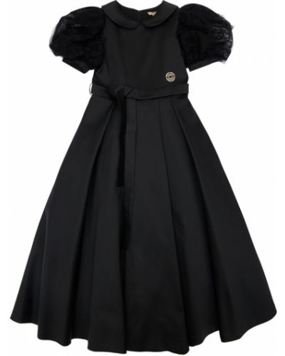 С рукавами кружевное платье макси на шнурках Elie Saab