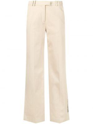 Свободные хлопковые укороченные брюки свободного кроя Karl Lagerfeld