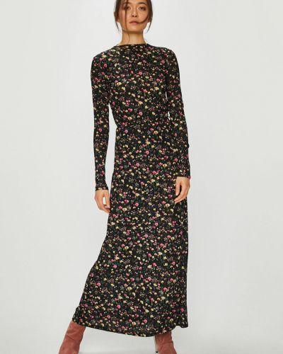 Платье с поясом макси прямое Jacqueline De Yong