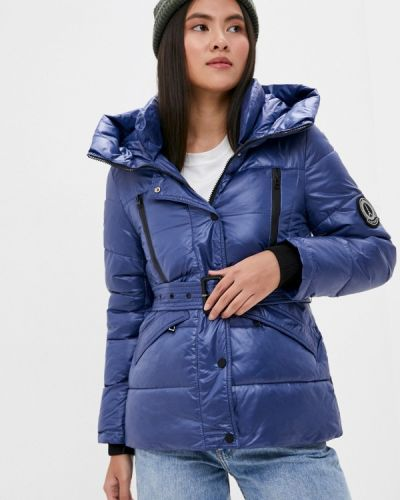 Утепленная куртка - синяя Liana