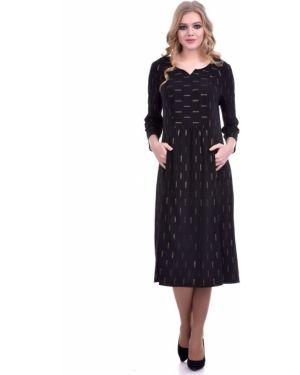 Платье миди платье-сарафан с карманами Lautus