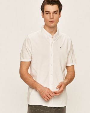 Biała koszula bawełniana na co dzień Clean Cut Copenhagen