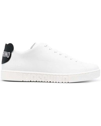 Sneakersy, biały Moschino