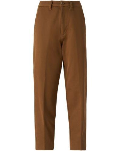 Brązowe mom jeans Haikure