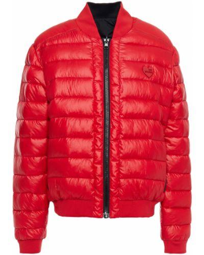 Текстильная стеганая куртка Love Moschino