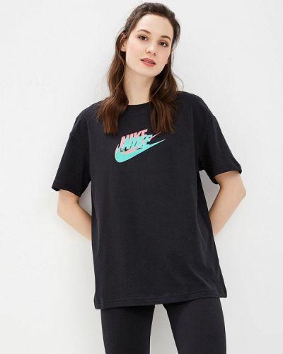 Черное поло турецкое Nike