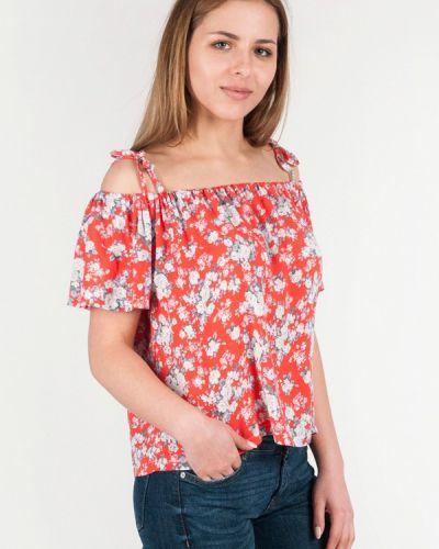 Блузка красная весенний Vergans