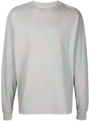 T-shirt bawełniana - fioletowa John Elliott