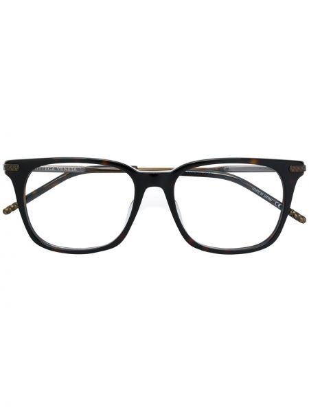 Черные очки квадратные Bottega Veneta Eyewear