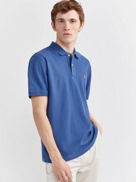 Синяя футболка Springfield