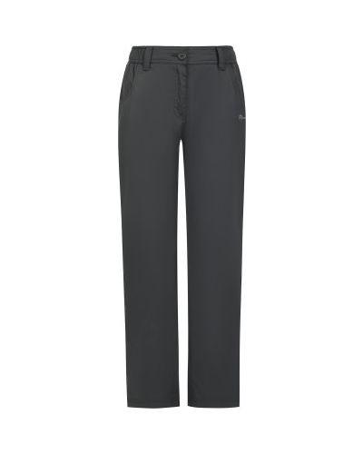 Теплые прямые коричневые спортивные брюки Outventure