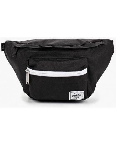 Текстильная поясная сумка - черная Herschel Supply Co