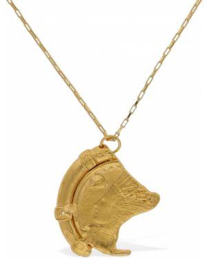 Naszyjnik pozłacany ze złota Alighieri