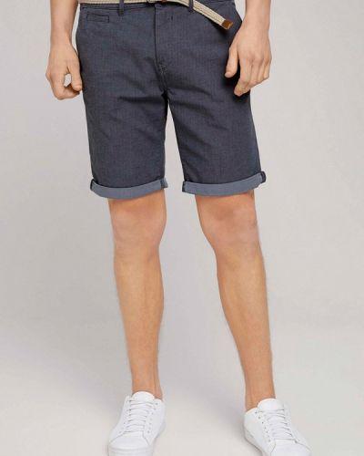 Синие джинсовые шорты Tom Tailor Denim