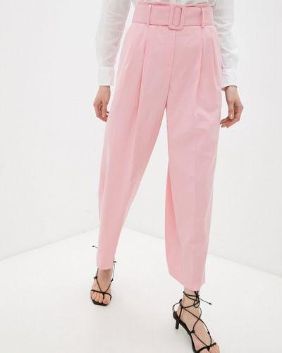 Повседневные розовые брюки Hugo