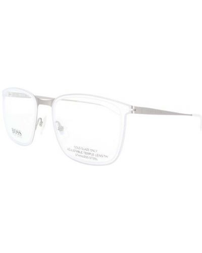 Białe okulary Hugo Boss